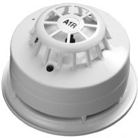 AlarmSense Sounder Base with A1R Heat Detector